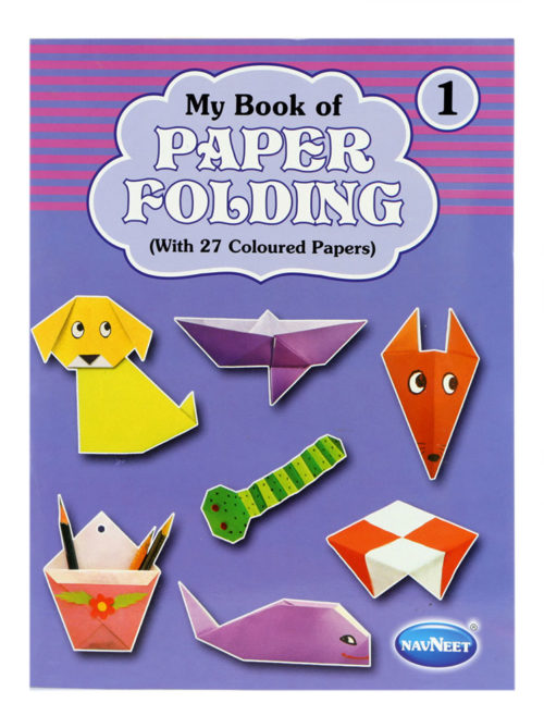 Navneet My Book Of Paper Folding Part-1