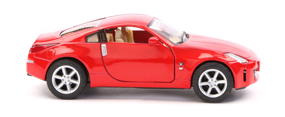 buy nissan 350z scale model 1 36 red online in india. Black Bedroom Furniture Sets. Home Design Ideas
