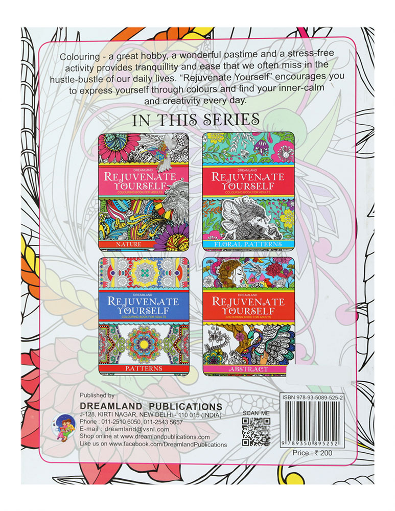 Buy Dreamland Rejuvenate Yourself Colouring Book For