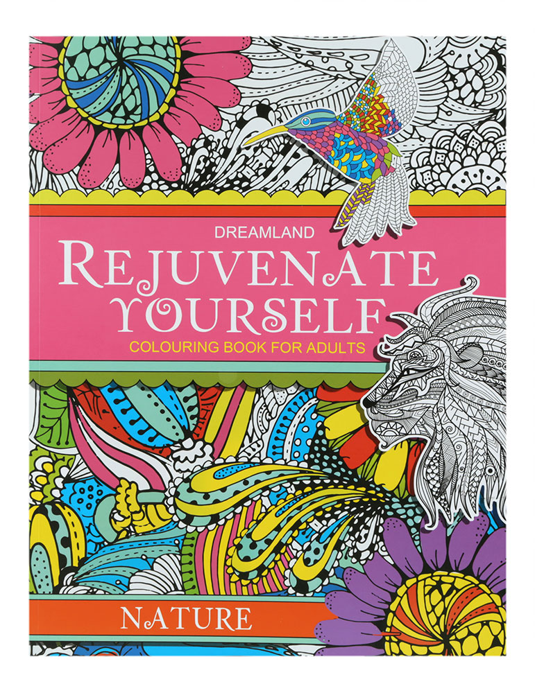 Dreamland Rejuvenate Yourself Colouring Book For Adults
