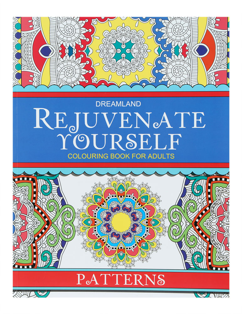 Buy Dreamland Rejuvenate Yourself Colouring Book For Adults