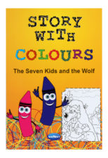 Navneet Story With Colours - The Seven Kids And The Wolf