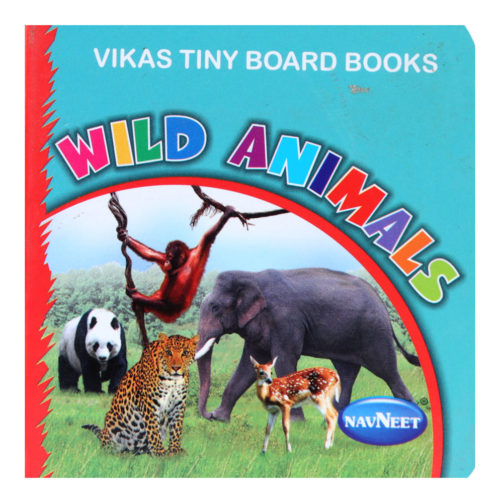 Navneet Vikas Tiny Board Book - Wild Animals