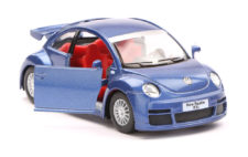 Volkswagen New Beetle RSI Scale Model 1/32 Blue