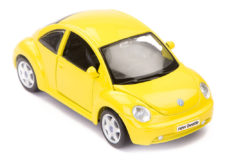 Volkswagen New Beetle Scale Model 1/25 Yellow