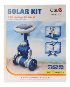 6-in-1 Solar Kit Educational DIY Orange