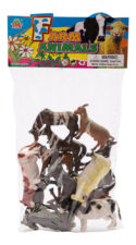Assorted Farm Animals 12pc HB9929-12