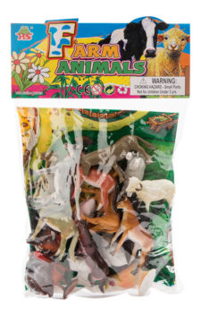 Assorted Farm Animals 20pcs HB9710-20