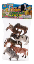Assorted Farm Animals 6pcs HB9929-6