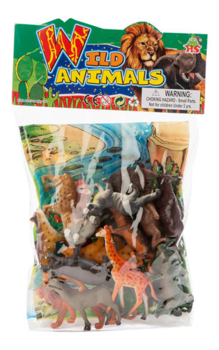 Buy Assorted Wild Animals Set 20pc Hb9810 20 1 Online In