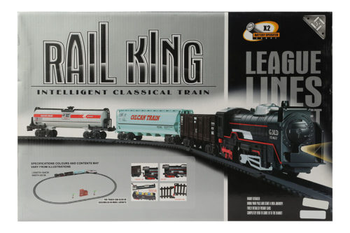 Battery Operated Classic Train With Oil Tanks