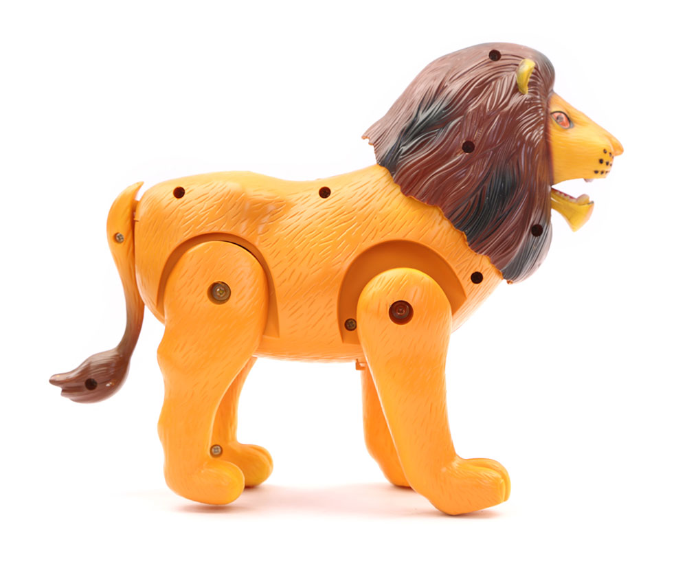 Buy Battery Operated Lion With Light And Sound Online In