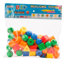 Colourful Small DIY Blocks With Different Shapes 86PC