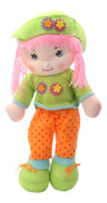Cute Soft Doll - green