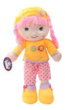 Cute Soft Doll - yellow