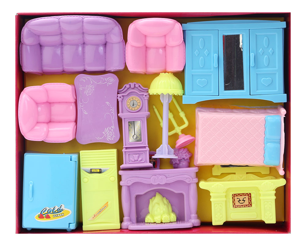 Doll House Living Room And Bedroom Set