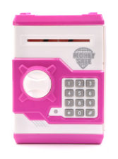 Electronic Money Safe Toy With Light And Sound