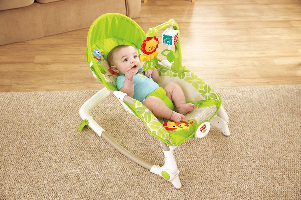 Buy Fisher-Price Newborn To Toddler Rocker With Free Diaper Bag Online In India • Kheliya Toys
