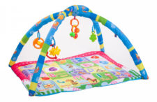Kheliya Fabric Activity Play Gym - Blue