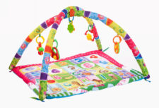 Kheliya Fabric Activity Play Gym - Multicolour