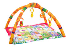 Kheliya Fabric Activity Play Gym - Orange