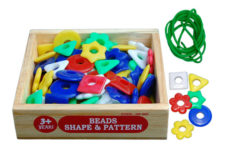 Little Genius Beads Shapes-Pattern HE-06E