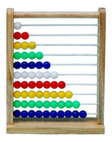 Little Genius Small Abacus HE-05 B