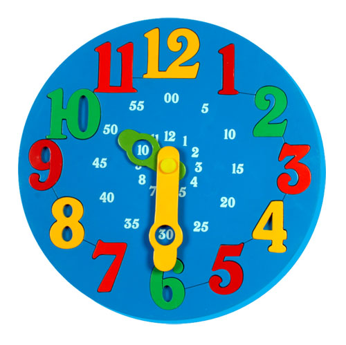Little Genius Time Learning Clock BC-13