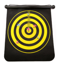 Magnetic Rolling Dart Board With 3 Darts Extra-Large