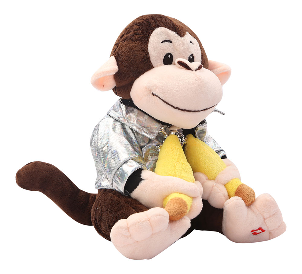 1abfe4cce964 Buy Musical Dancing Monkey Swag Soft Toy Brown Online In India ...