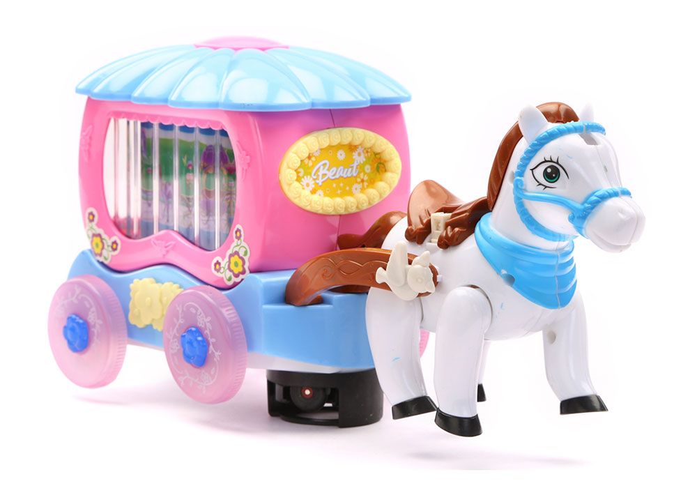 buy musical horse and carriage with lights online in india kheliya