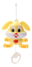 Musical Pulling Toy With Sweet Sound - Rabbit - Yellow