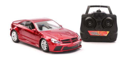 R/C Scenery Racing Car Chargeable - Dark Red