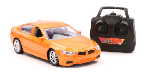 R/C Scenery Racing Car Chargeable - Orange