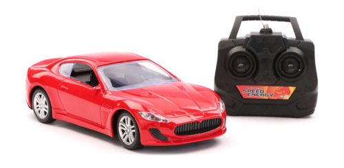 R/C Scenery Racing Car Chargeable - Red