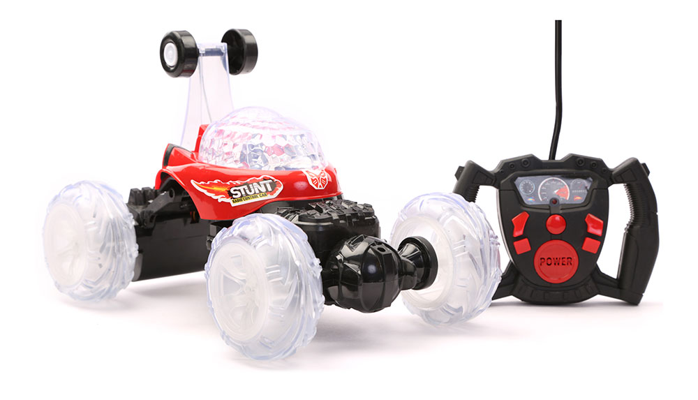 Buy R C Stunt Car Large Chargeable Red Online In India