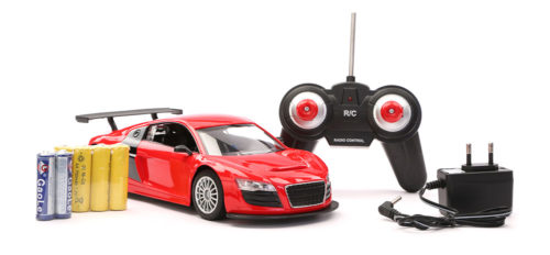 R/C Top Grade Racing Car - Red