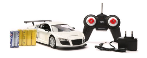 R/C Top Grade Racing Car - White