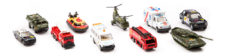 StreetMachine Scale Model Assorted Vehicles - Pack Of 10