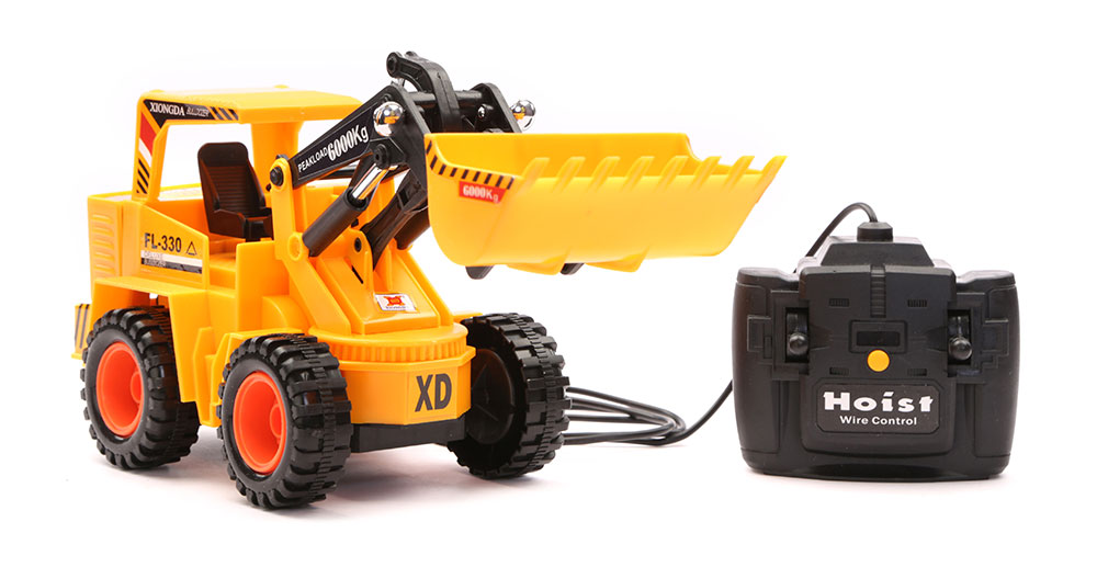 Wired Controlled JCB Truck Yellow