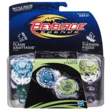 Beyblade 2-Pack Stamina Top - Flame Sagittario & Thermal Pisces