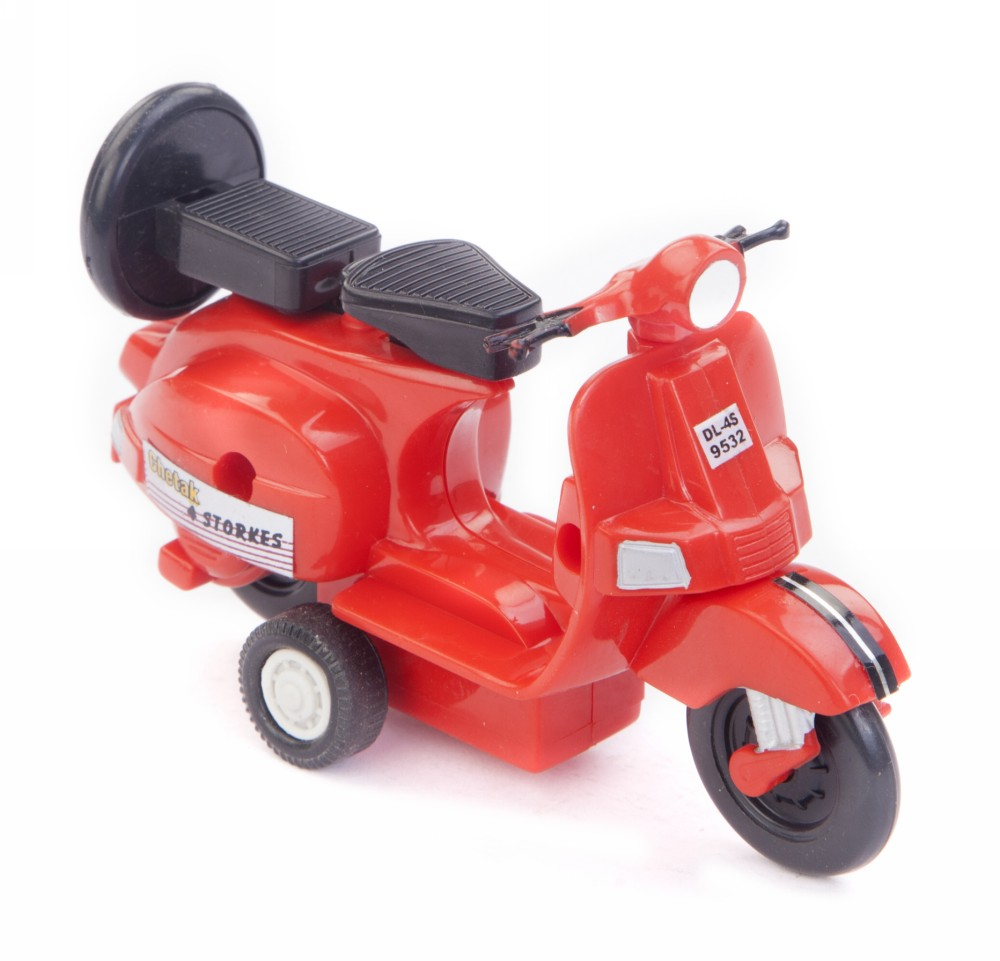Buy Centy Baby Chetak Pullback Scooter Toy Red Online In India