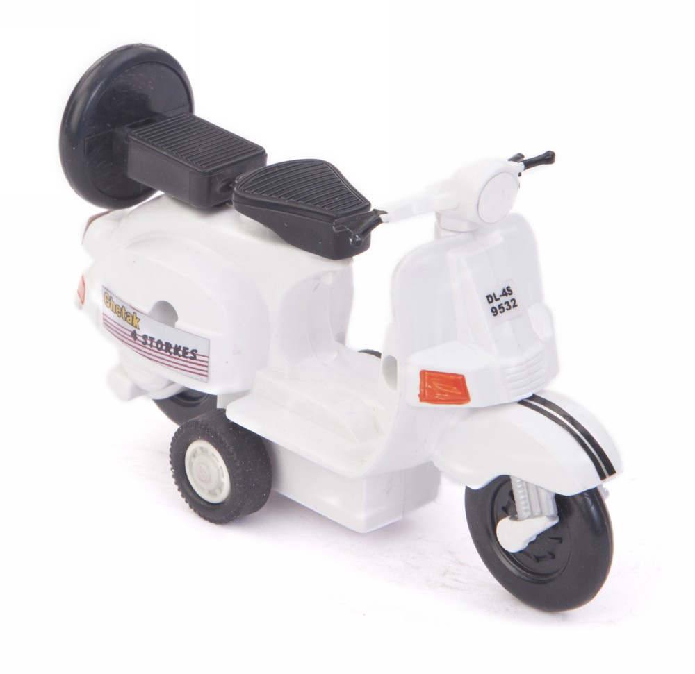 Buy Centy Baby Chetak Pullback Scooter Toy White Online In India