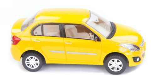 Centy Maruti Suzuki Swift Dezire Yellow Pullback Car