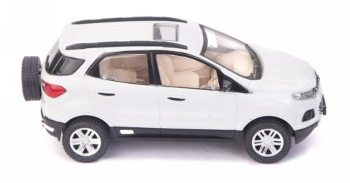 Centy Ford EcoSport White Pullback Car