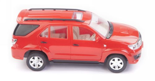 Centy Toyota Fortuner Red Pullback Car