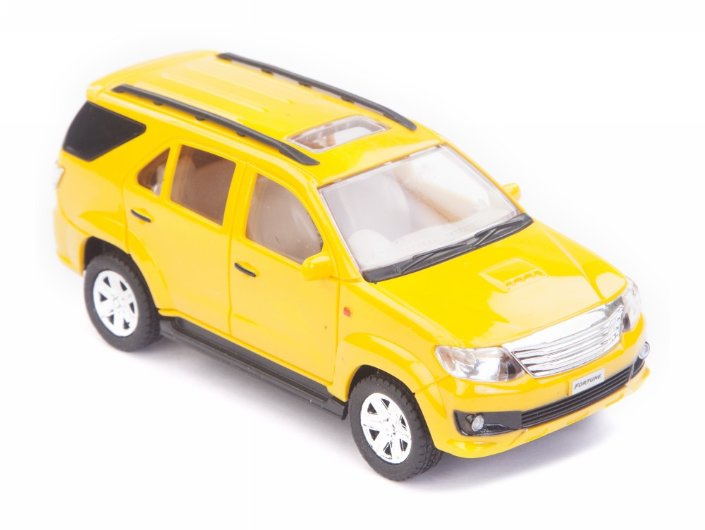 Buy Centy Toyota Fortuner Pullback Car Yellow Online In India
