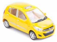 Centy Hyundai i10 Yellow Pullback Car