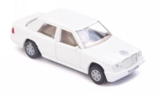 Centy Mercedez White Pullback Car