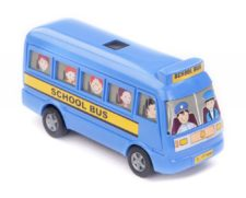 Centy Mini Bus Blue Pullback